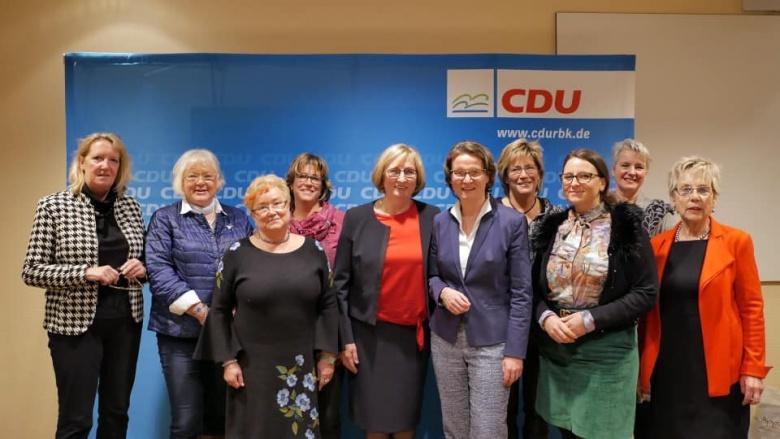 Vera Rilke-Haerst wird neue Kreisvorsitzende der Frauen Union